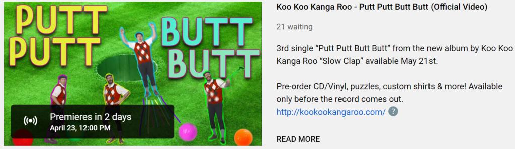 koo koo kangaroo youtube