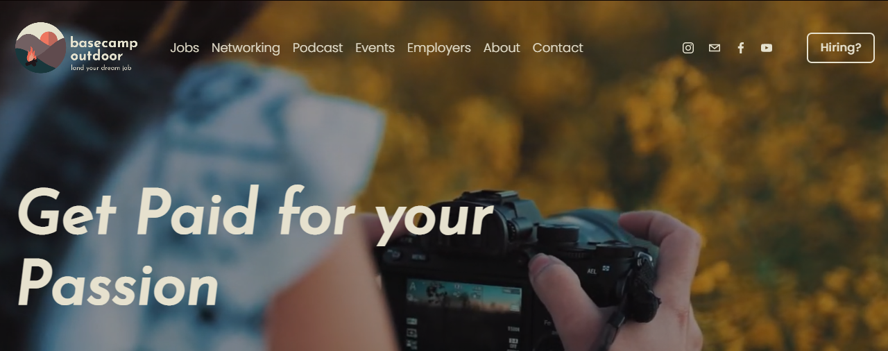 Job Searcher Finds Content Tilt with Outdoor Facebook Group and Newsletter
