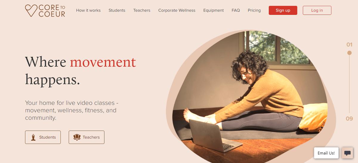Pilates Teacher Moves Online Training Empire