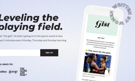Fresh Newsletter Win Sports Media Game for Women Content Entrepreneurs