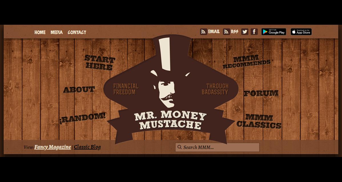 Blogger Mr. Money Mustache Creates Content to Eradicate a Contradiction