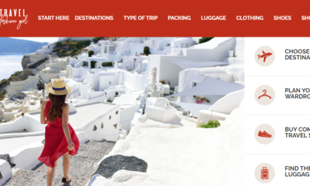 Travel Fashion Girl Blogger Finds Big Success in Small Packing Advice