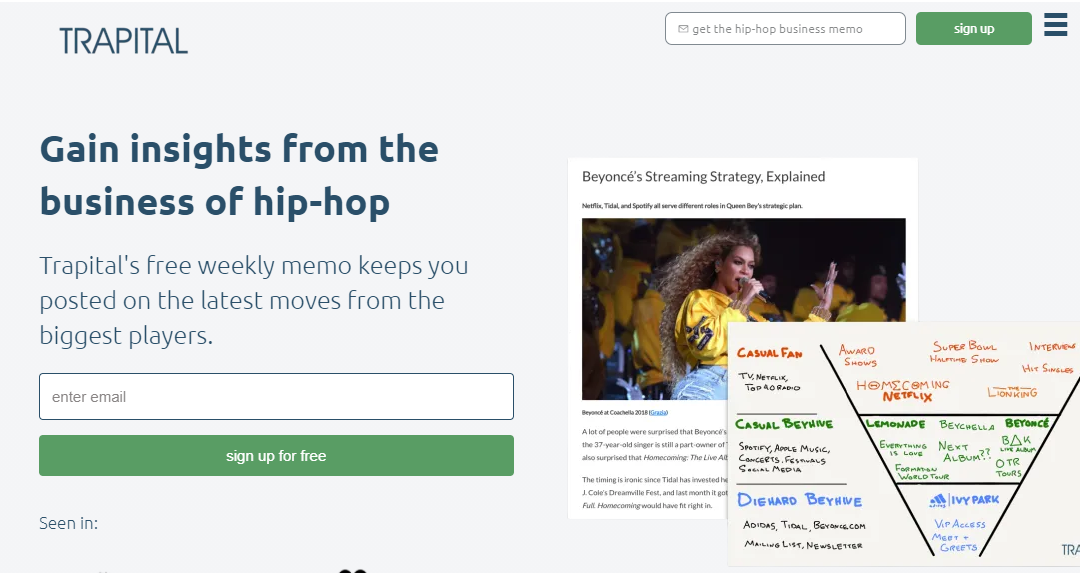 Newsletter Trapital's Creator Talks the Business of Hip-Hop