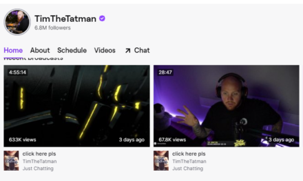 Twitcher and YouTuber TimTheTatman's Big Risk Pays Off