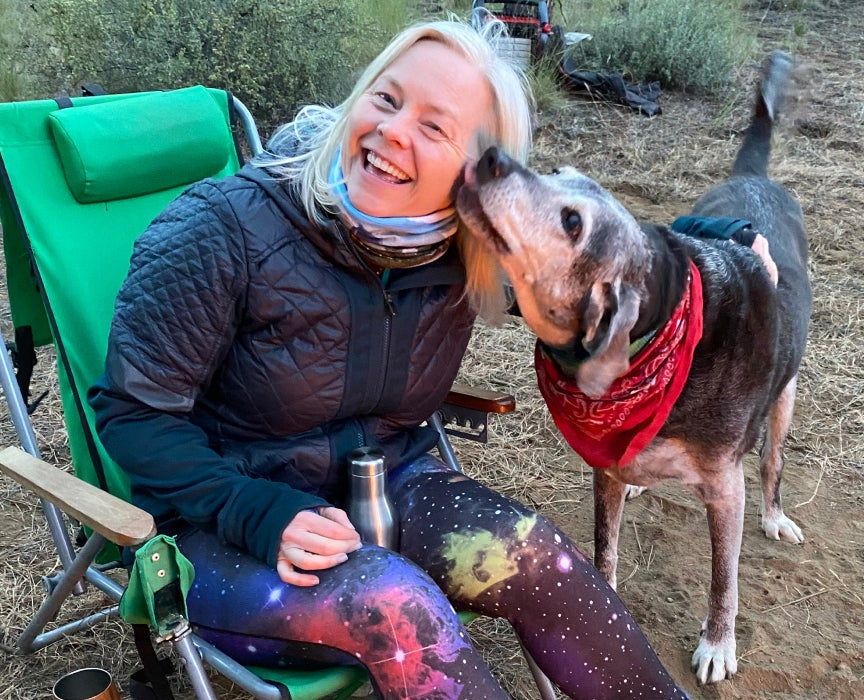 The Dyrt camping review site founder Sarah Smith