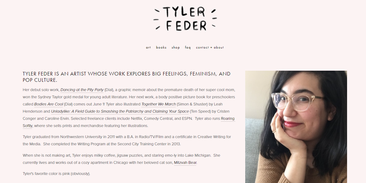 Illustrator Tyler Feder Tumbles Into Instagram and Book Success