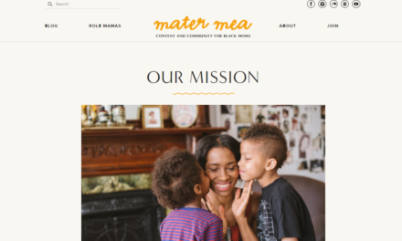Content Creator Says Mater Mea Site Is Like 'Black mom Google'
