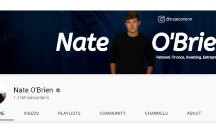 YouTube Content Creator Nate O'Brien Credits Success to Constant Uploads