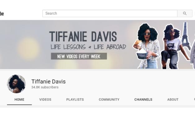 YouTube Case Study: Tiffanie Davis Helps Audiences Plan Dream Life in France