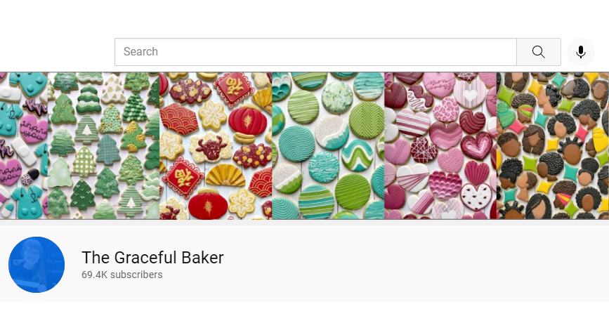Instagrammer Graceful Baker Serves Delicious-Looking Cookie Content with a Side of Good