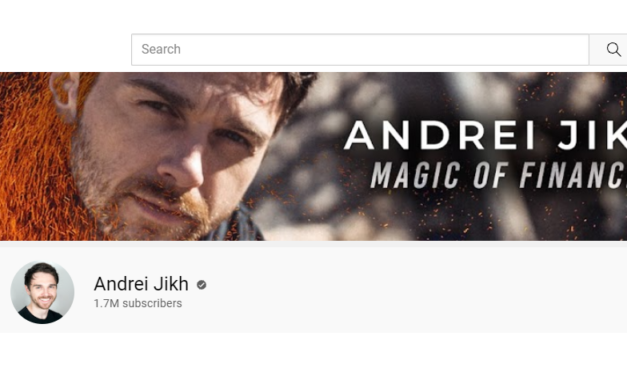 YouTuber Andrei Jikh Pockets Millions Teaching Others to be Financially Savvy