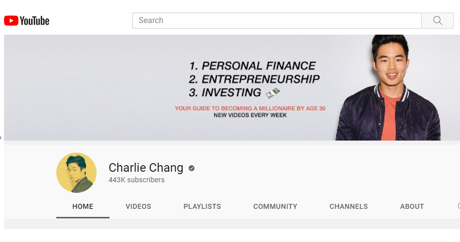 YouTuber Charlie Chang's Content Pivot Earns Him Thousands in Affiliate Marketing