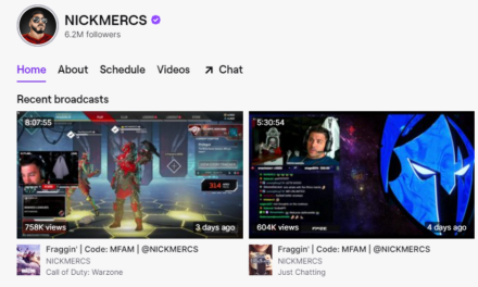 Childhood Gaming Prepares Nickmercs to be an All-Star Twitcher